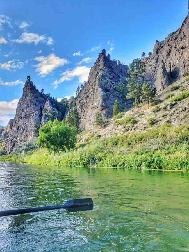 Missouri River Cascade Montana