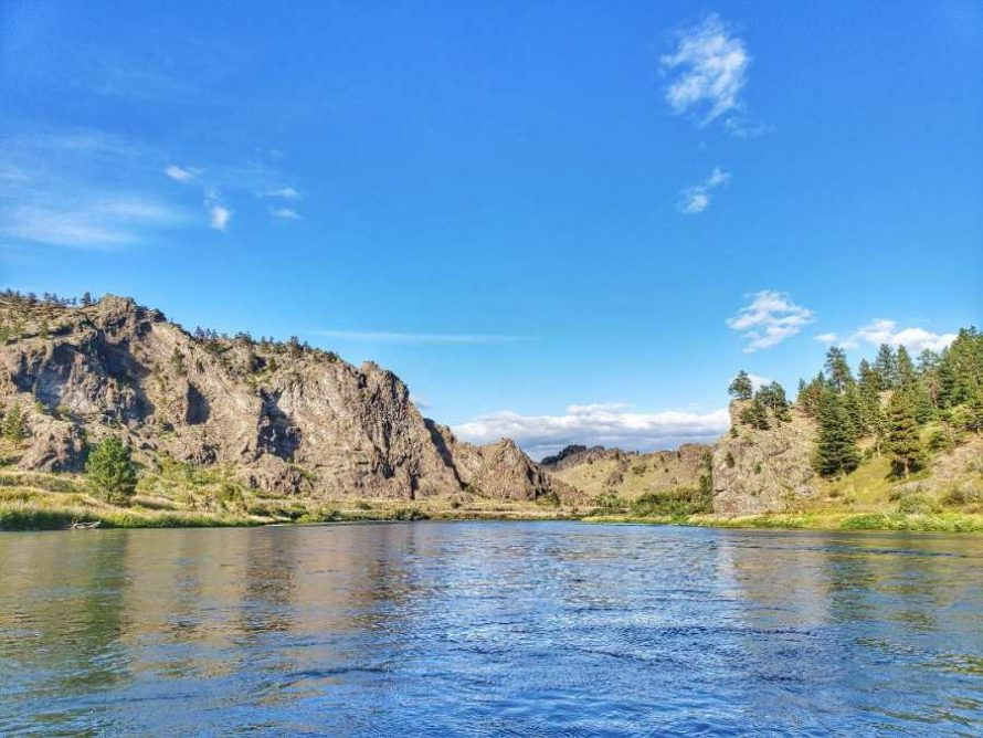 On The Missouri River Cascade Montana