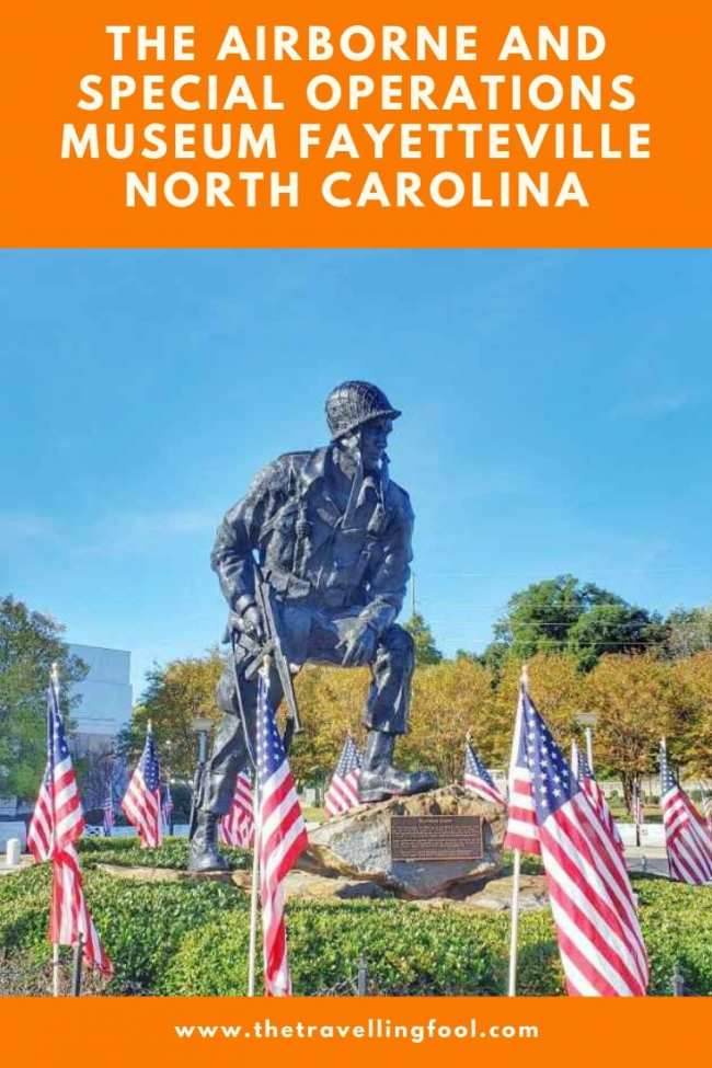 The Airborne & Special Operations Museum in Fayetteville North Carolina