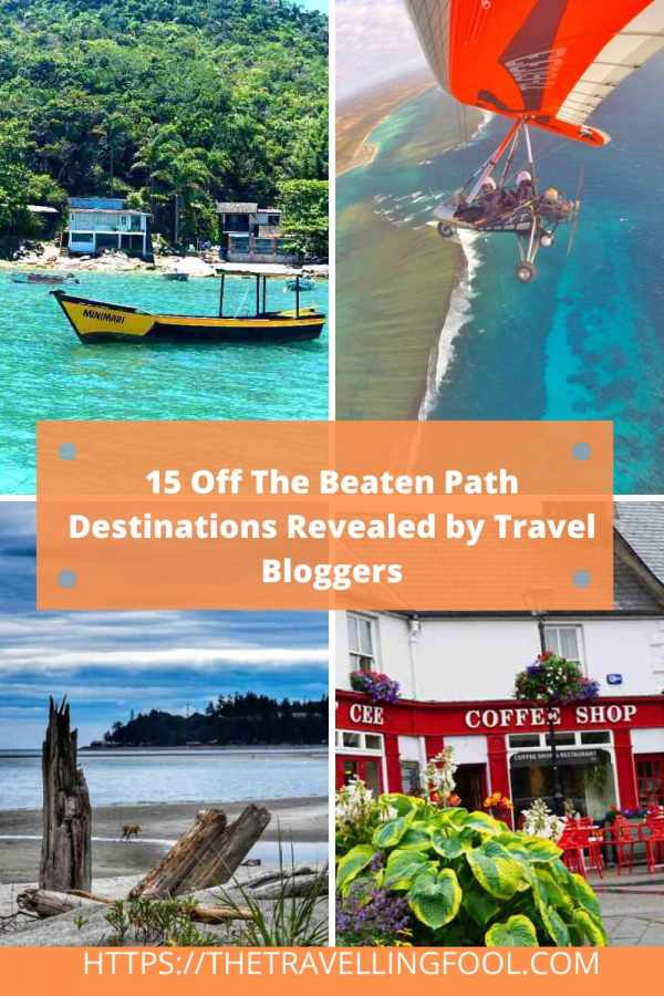 Travel bloggers know some of the best places to get off the beaten path. Check out these 15 Off The Beaten Path Destinations. Some in faraway places and some you might not expect. If you are looking for some ideas about where to travel next, one of these locations might be for you. #Travel #Destinations #traveltips #Europe #Asia #USA #budgettravel #vacationideas #beachtravel