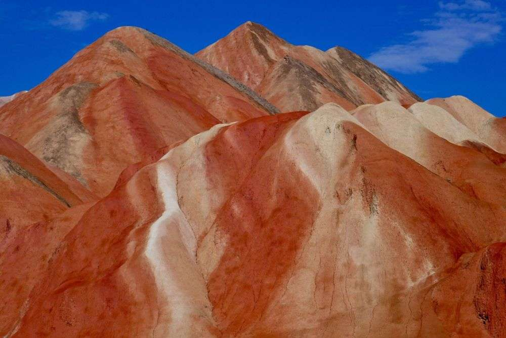 Zhangye Rainbow Mountains China