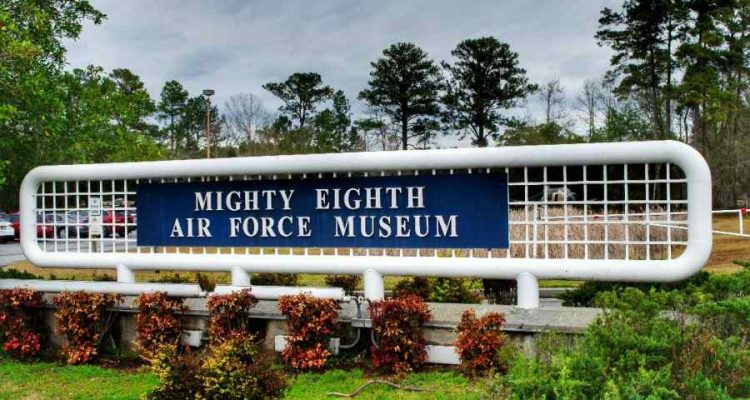 Mighty Eighth Air Force Museum Entrance