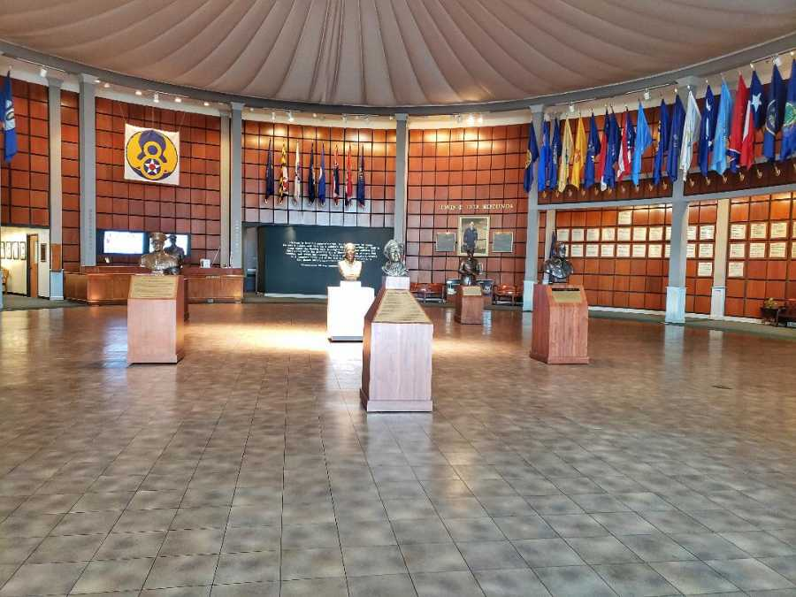 Mighty Eighth Museum lobby