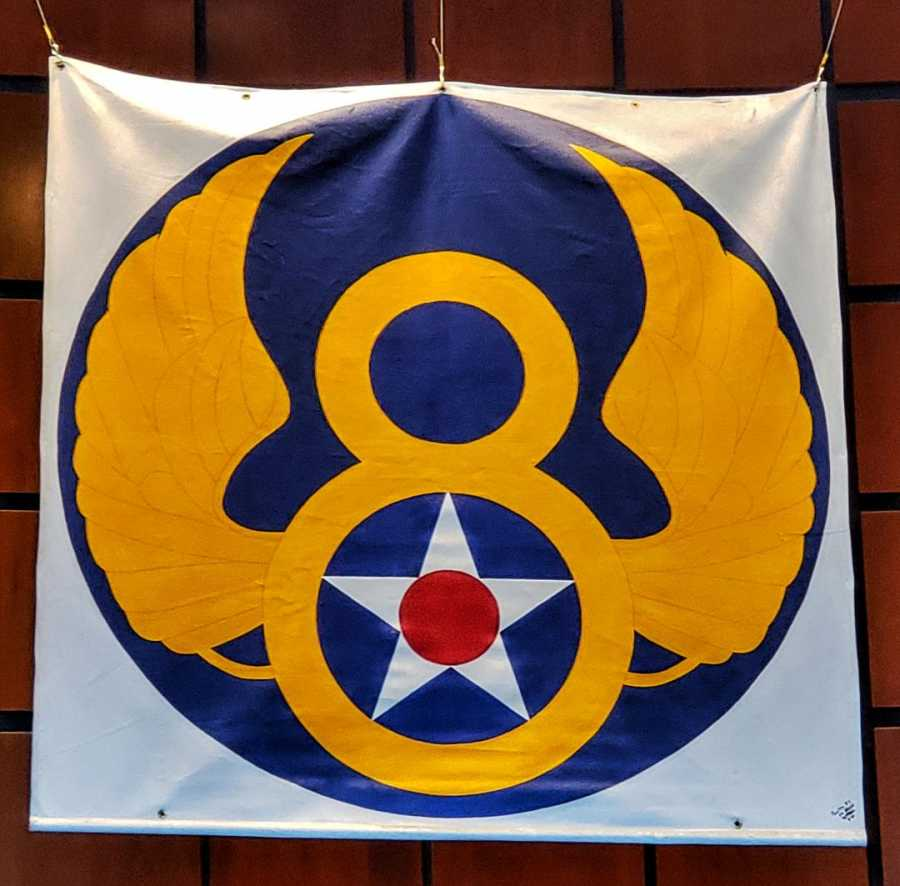 Mighty eighth Air Force Unit Banner