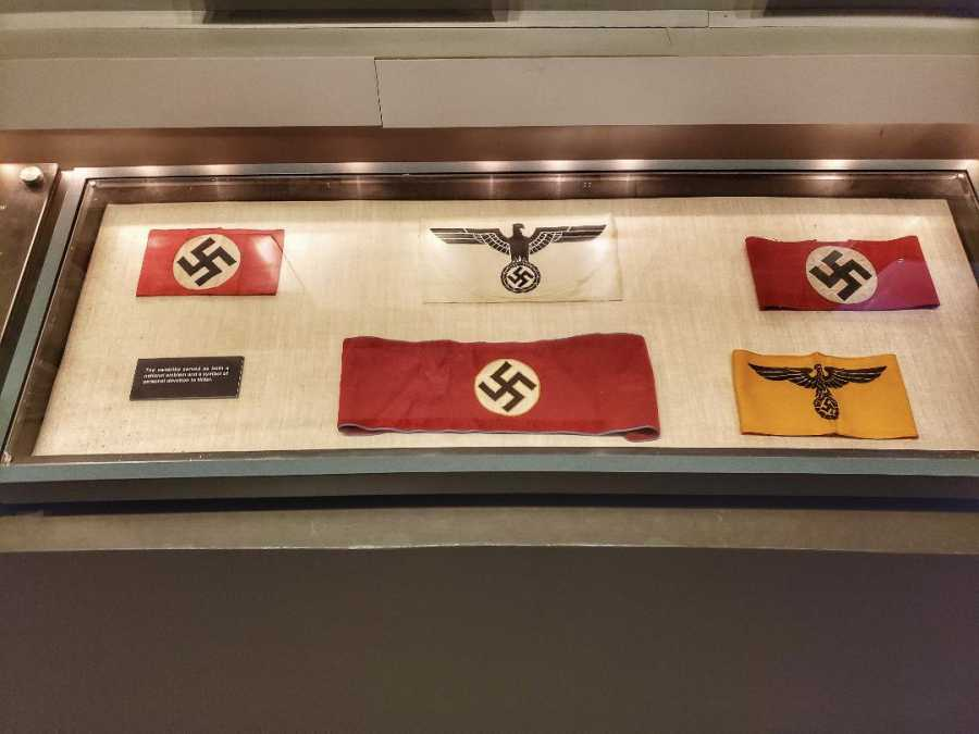Nazi memorabilia Mighty Eighth Museum