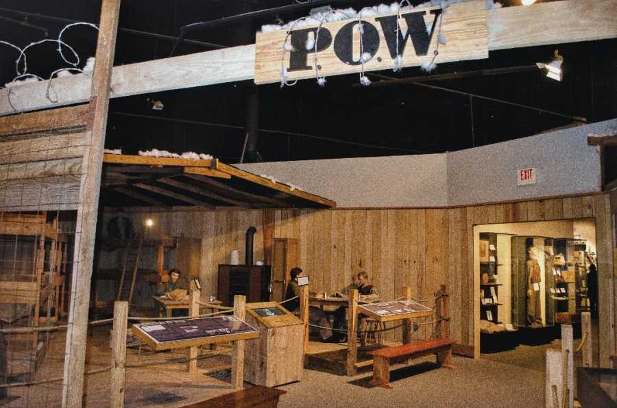 POW Display Mighty Eighth Museum