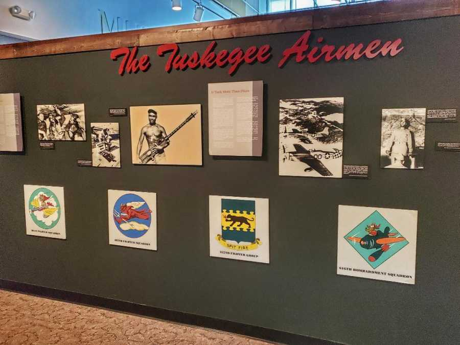 Tuskegee Airmen Display Mighty Eighth Museum