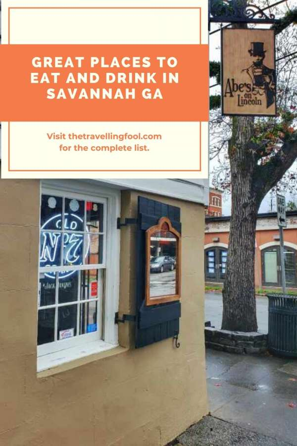 Visiting Savannah Georgia? Here Are The Best Places To Eat And Drink