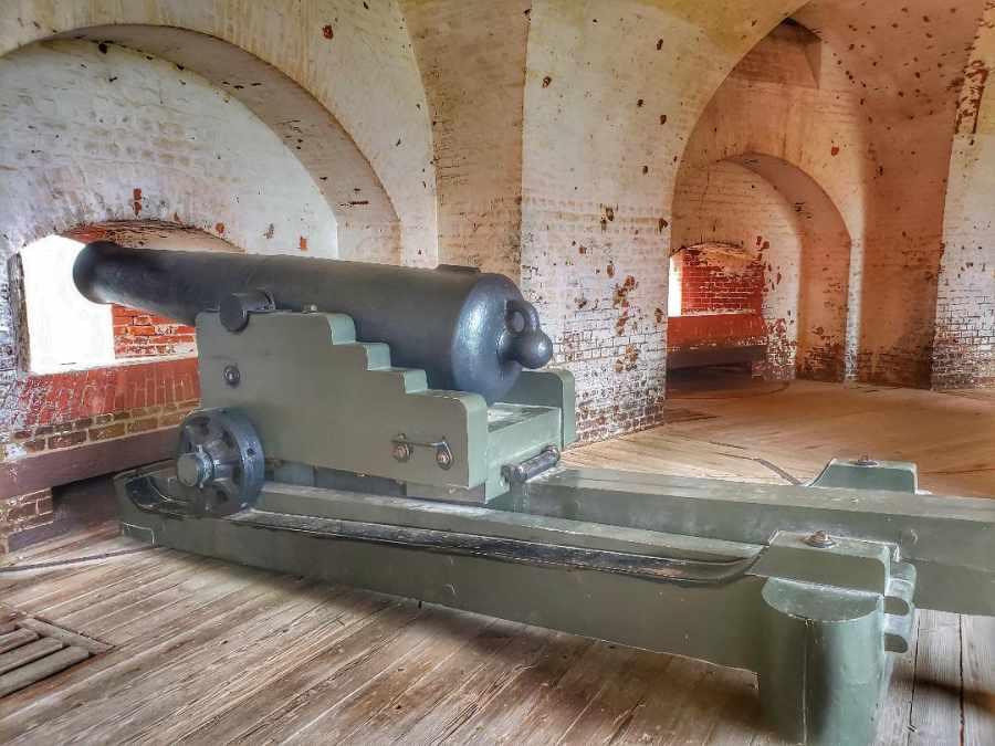 Cannon Ft Pulaski