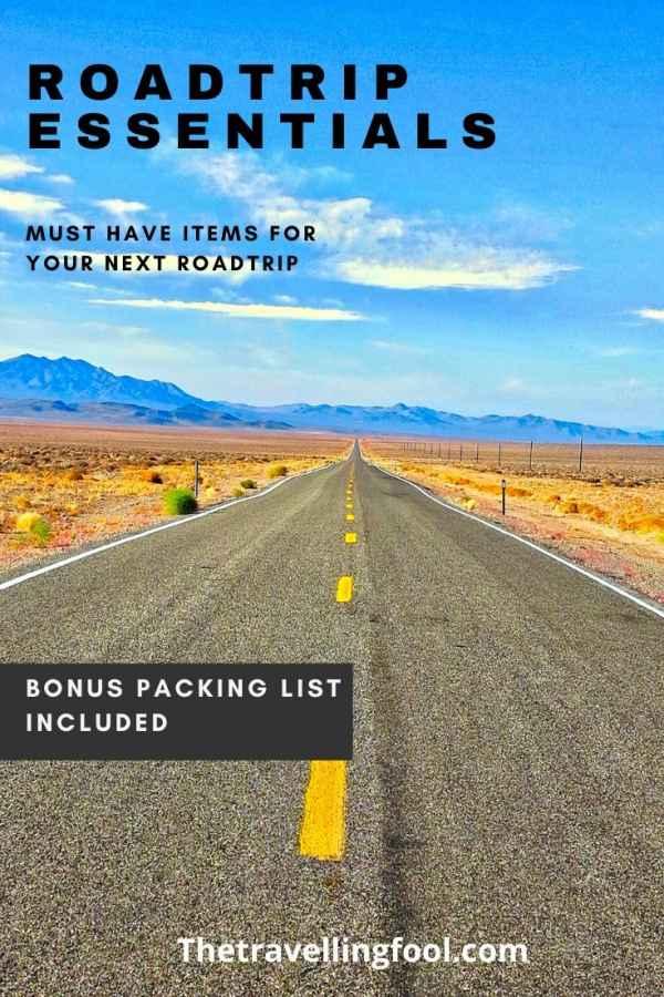 14 Must Have Road Trip Essentials