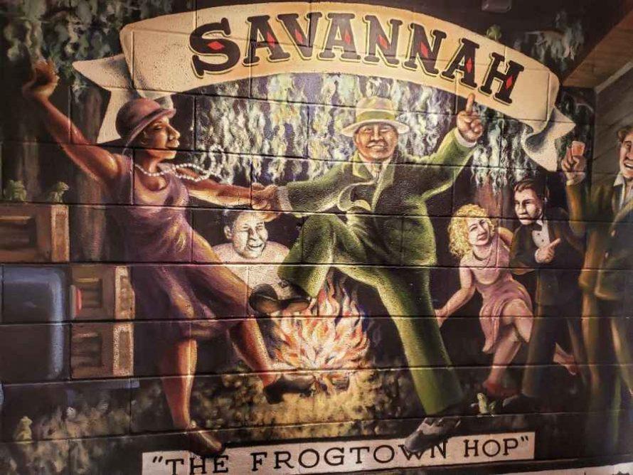Savannah Georgia Frogtown