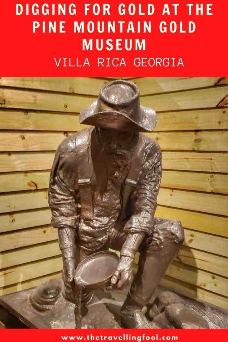 Digging for Gold in Villa Rica Georgia