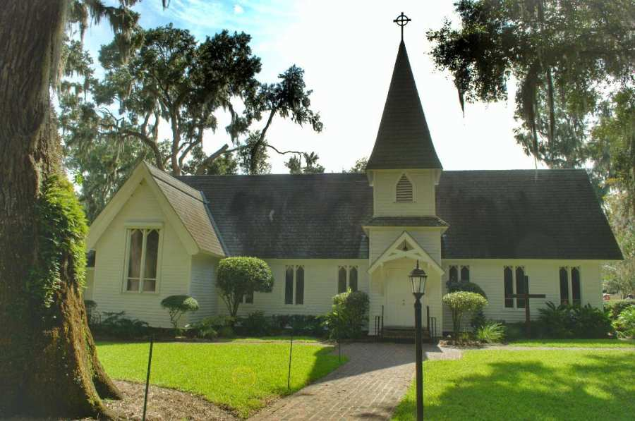 Christ Church Frederica St Simons Ga
