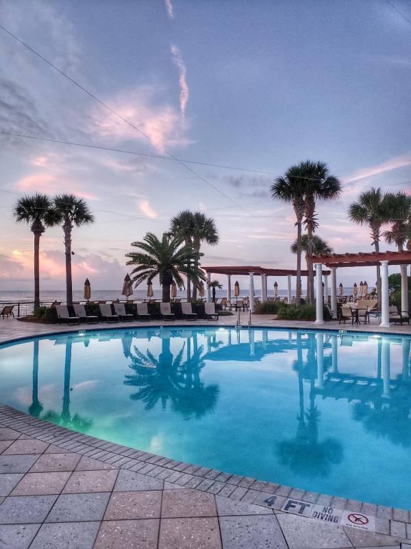 King and Prince Resort Pool area