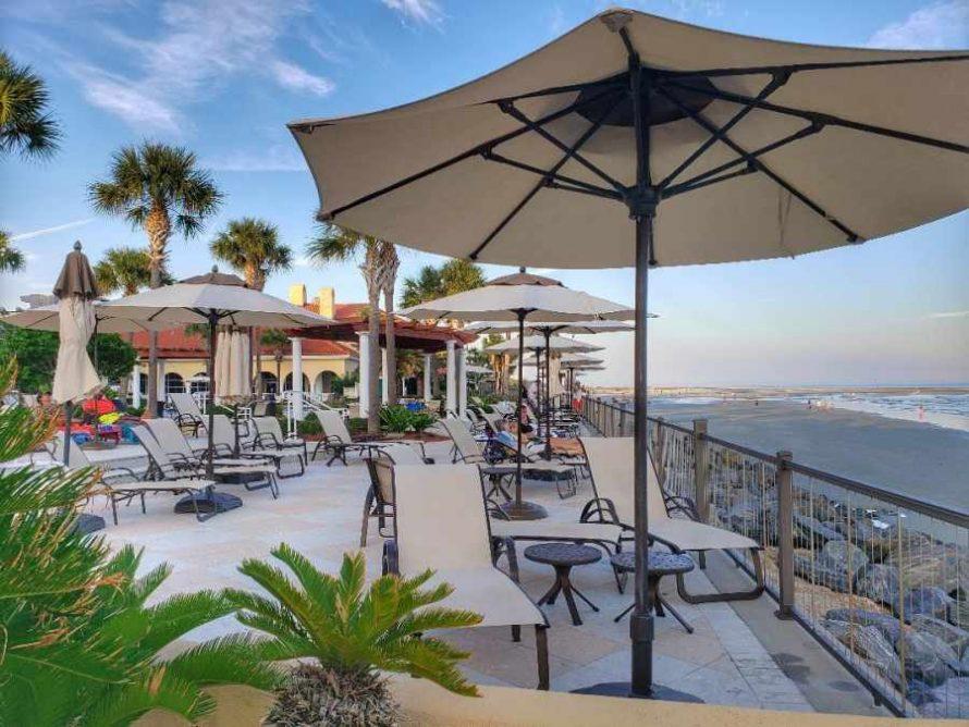 King and Prince Resort beachfront