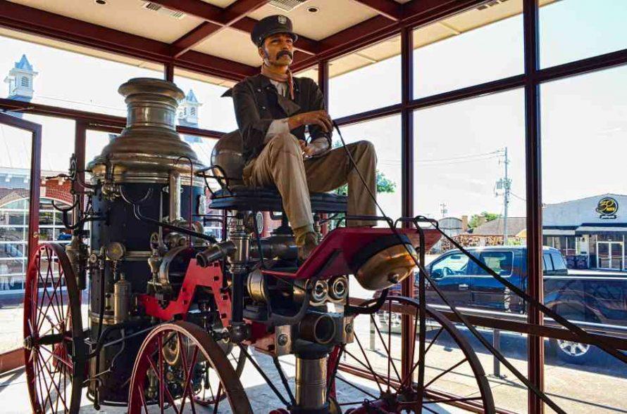 1879 Silsby Fire Engine Brenham Texas