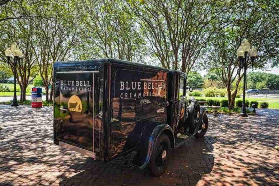 Blue Bell Creameries old truck