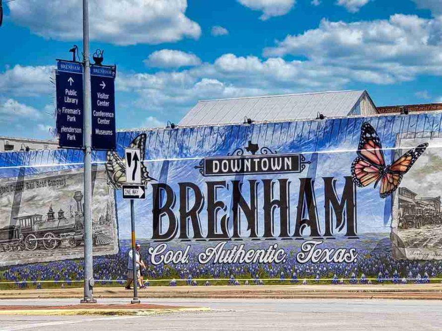 Brenham Texas Mural