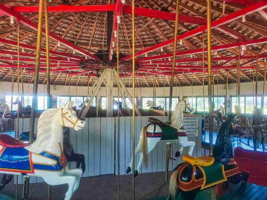 Flying Horses Carousel Brenham Texas
